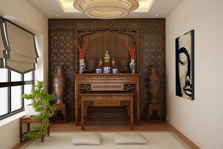 Bàn thờ gia tiên theo phong tục Việt Nam được đặt như thế nào cho đúng phong thủy?